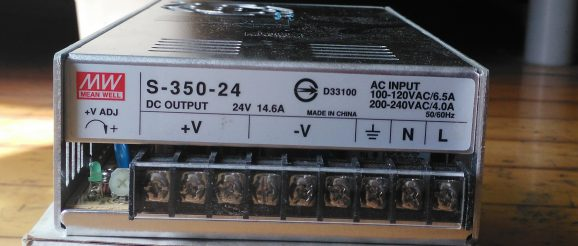 Mean Well Power Supply